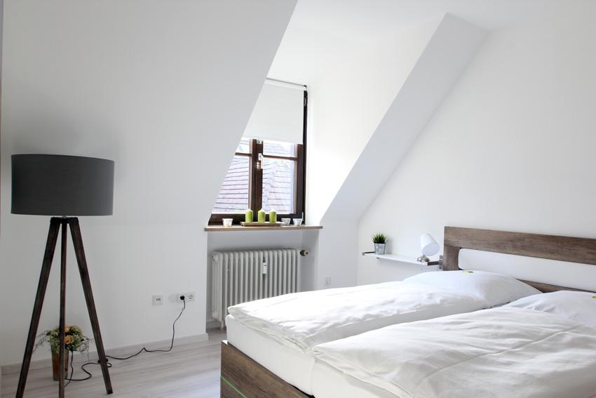 Ferienwohnung in Würzburg - Schlafzimmer